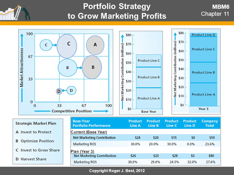 Portfolio Strategy to Grow Marketing Profits