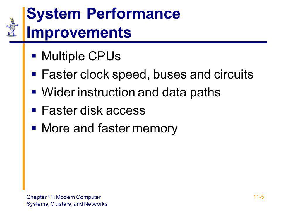 System Performance Improvements