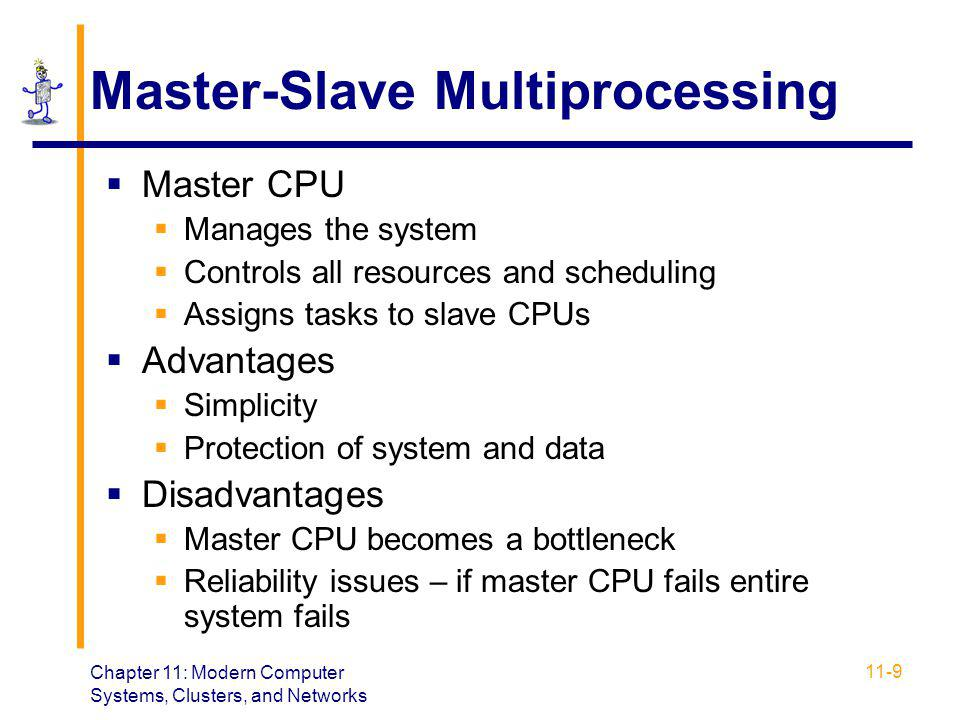 Master-Slave Multiprocessing