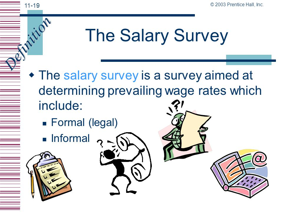 The Salary Survey Definition