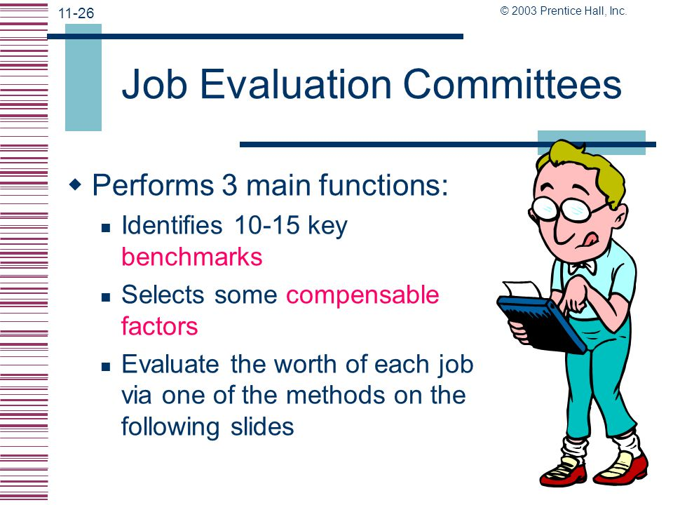 Job Evaluation Committees
