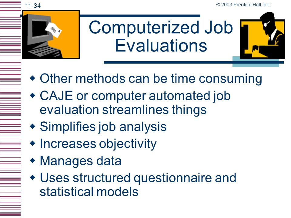 Computerized Job Evaluations