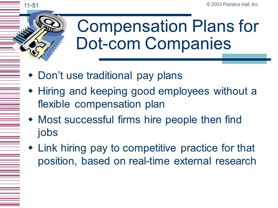 Compensation Plans for Dot-com Companies
