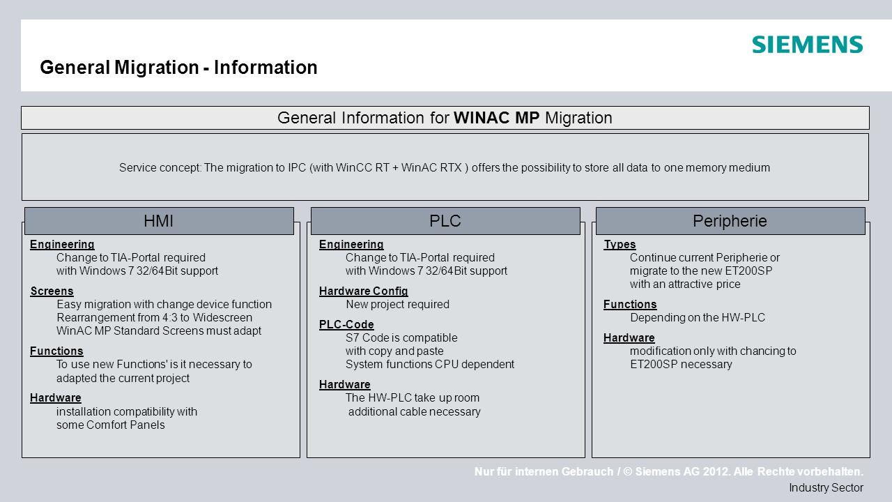 General Migration - Information