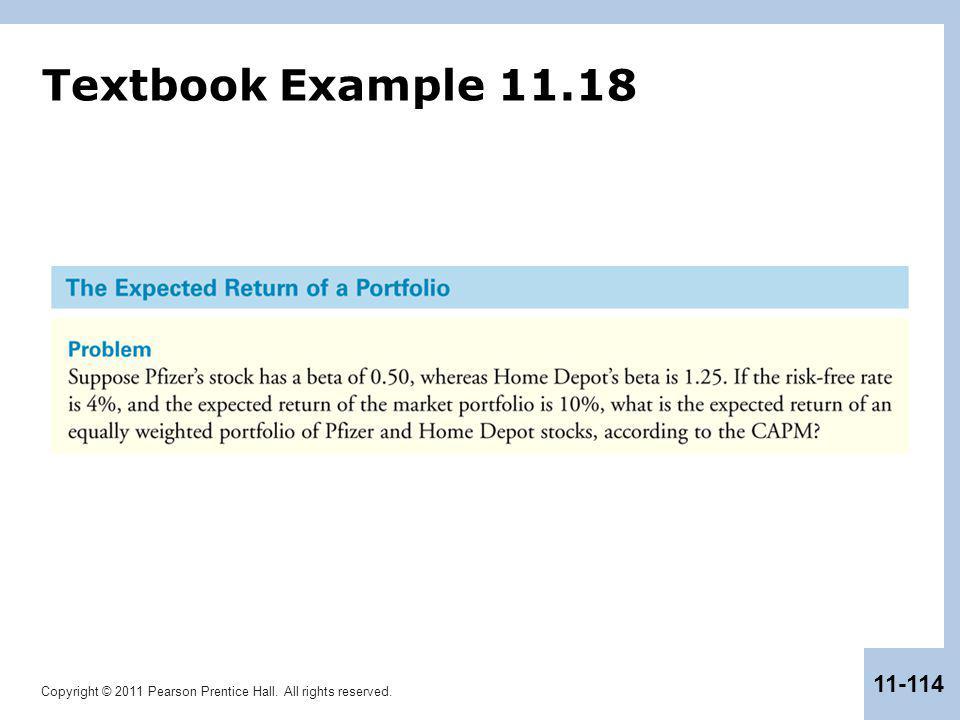 Textbook Example 11.18