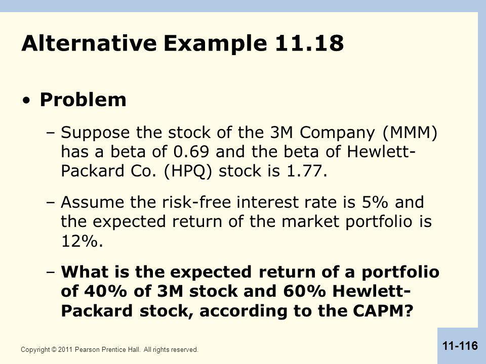 Alternative Example 11.18 Problem