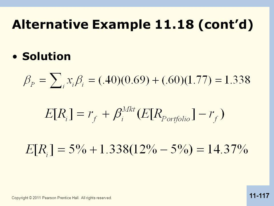 Alternative Example 11.18 (cont'd)