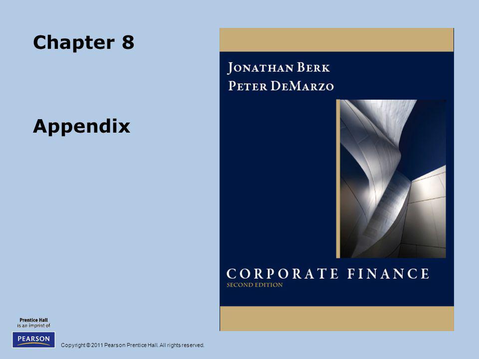 Chapter 8 Appendix