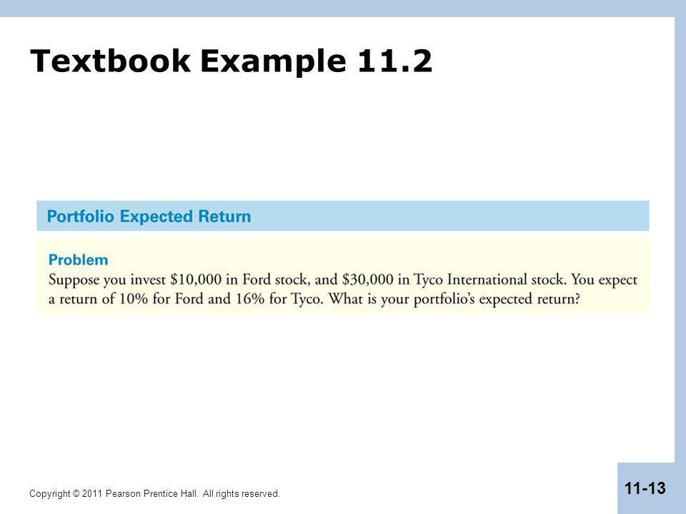 Textbook Example 11.2