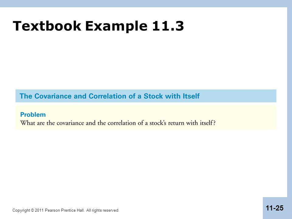 Textbook Example 11.3
