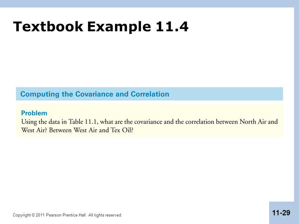 Textbook Example 11.4
