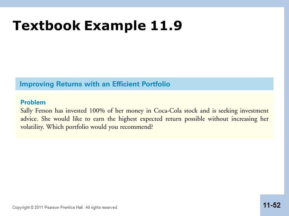 Textbook Example 11.9