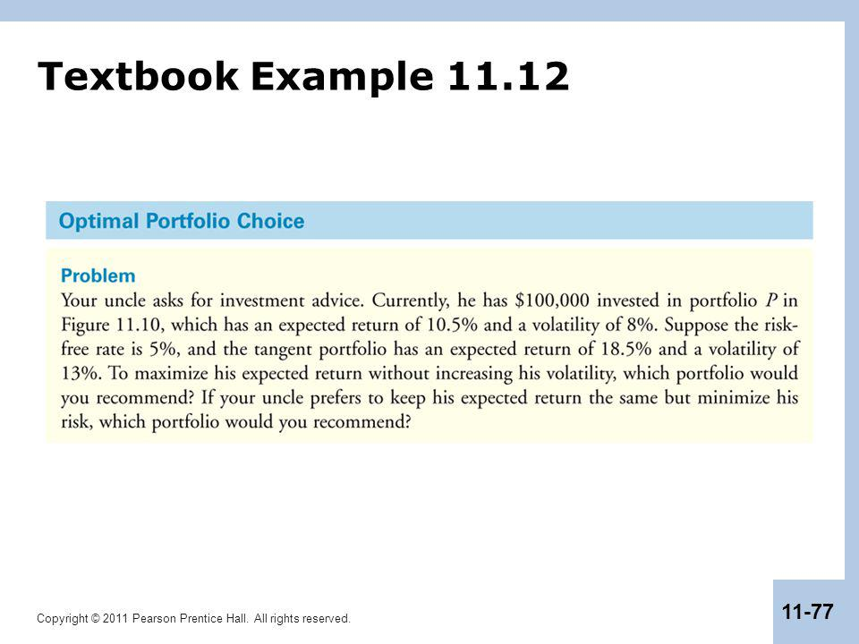 Textbook Example 11.12