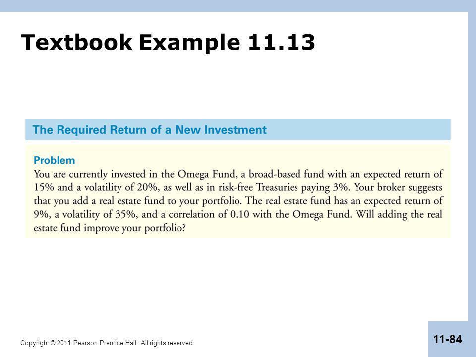 Textbook Example 11.13