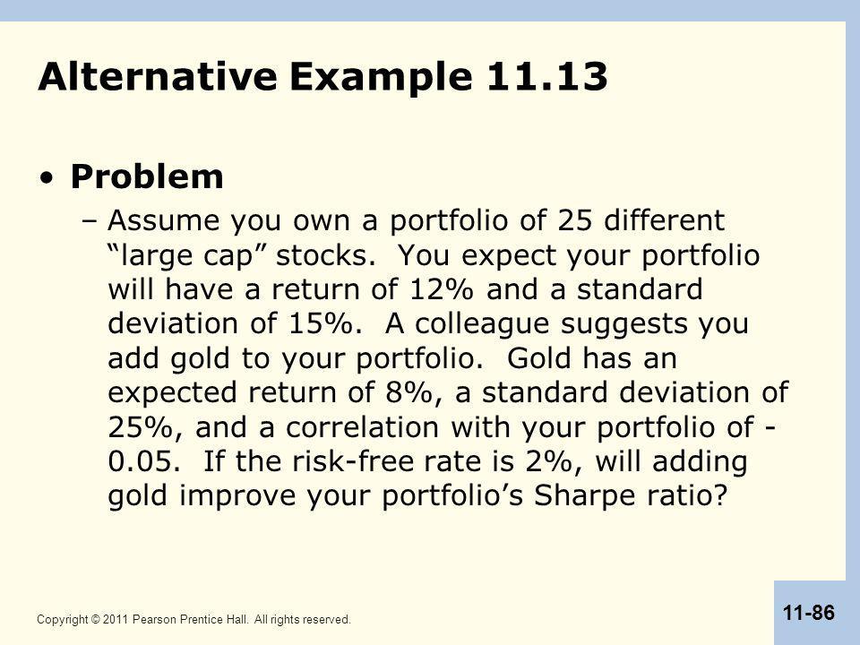 Alternative Example 11.13 Problem