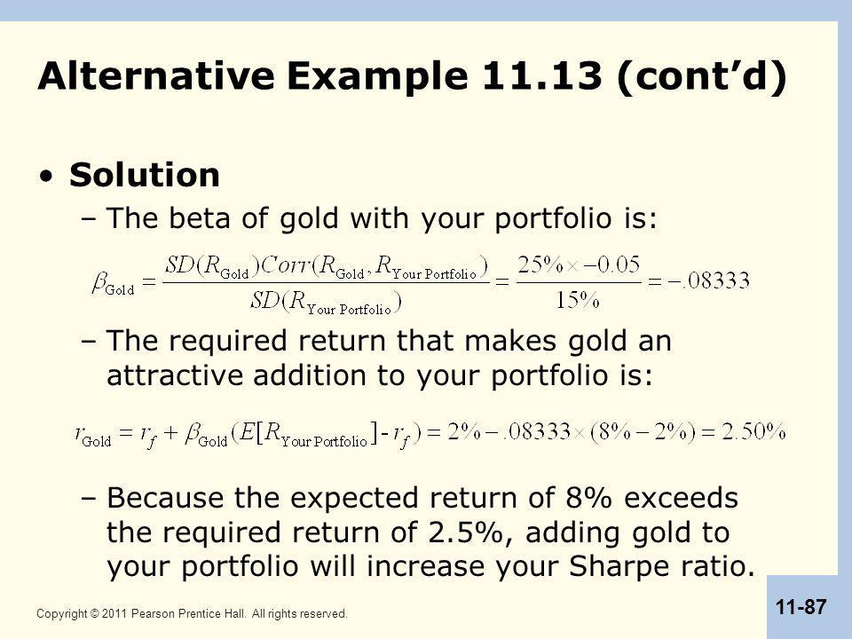 Alternative Example 11.13 (cont'd)