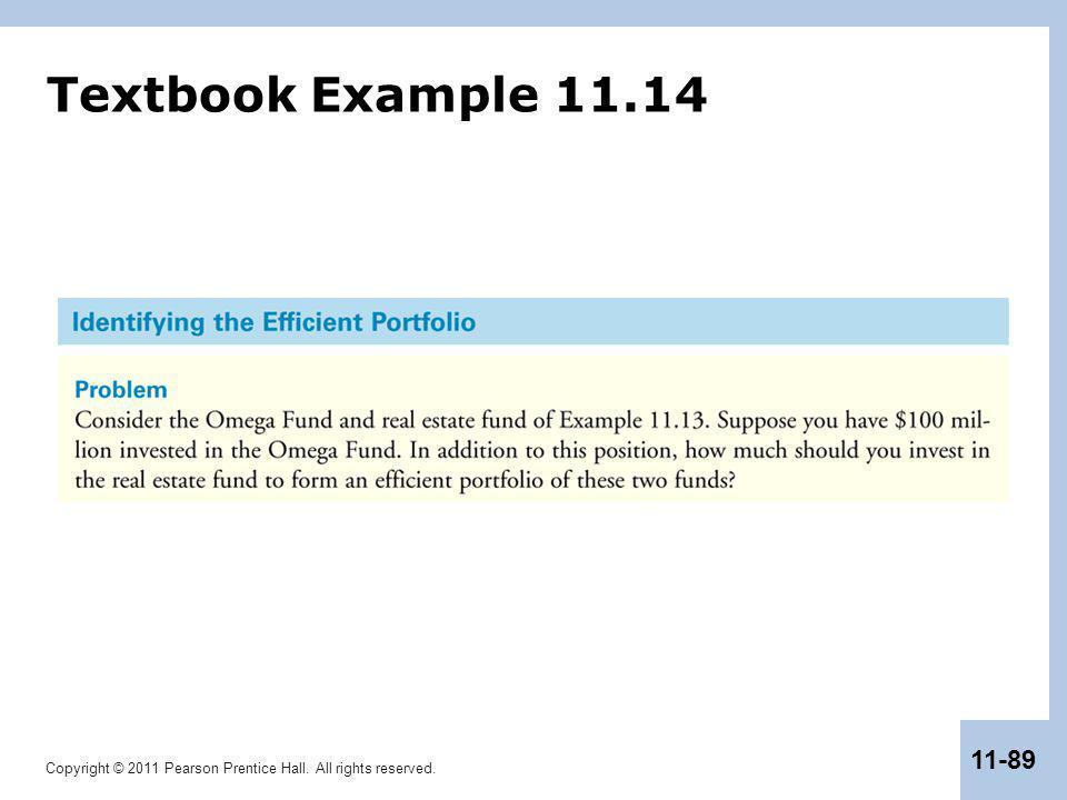 Textbook Example 11.14