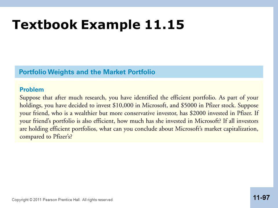 Textbook Example 11.15