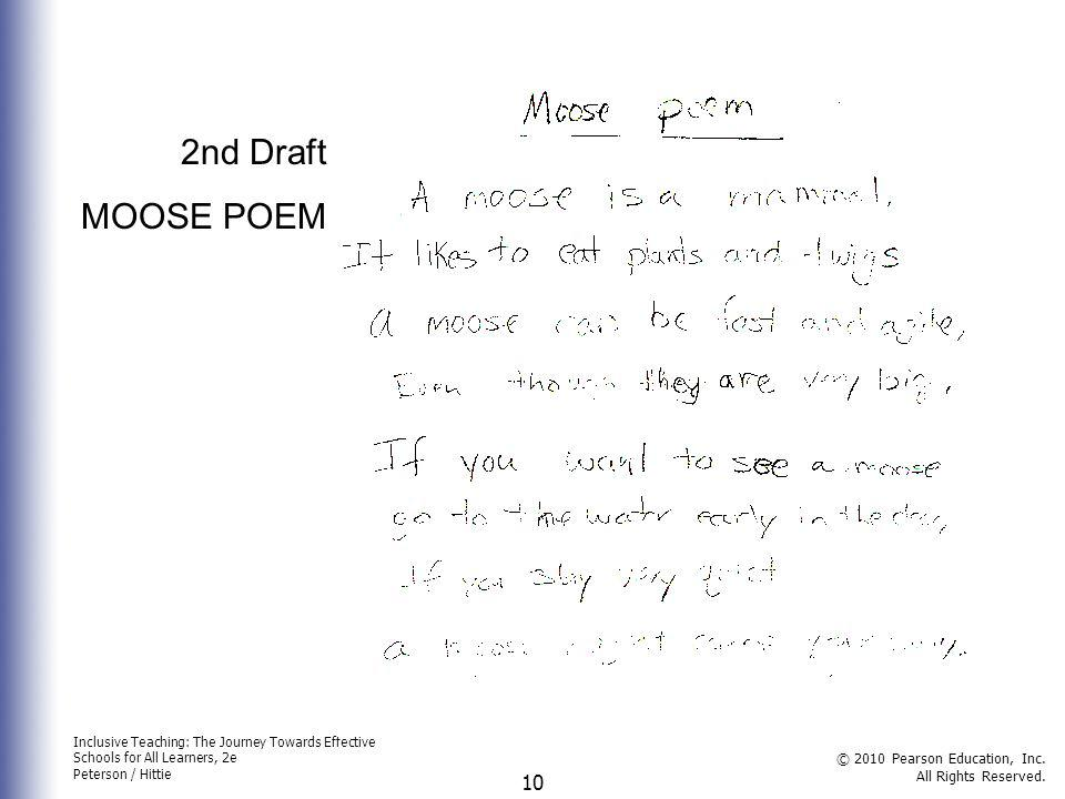 2nd Draft MOOSE POEM