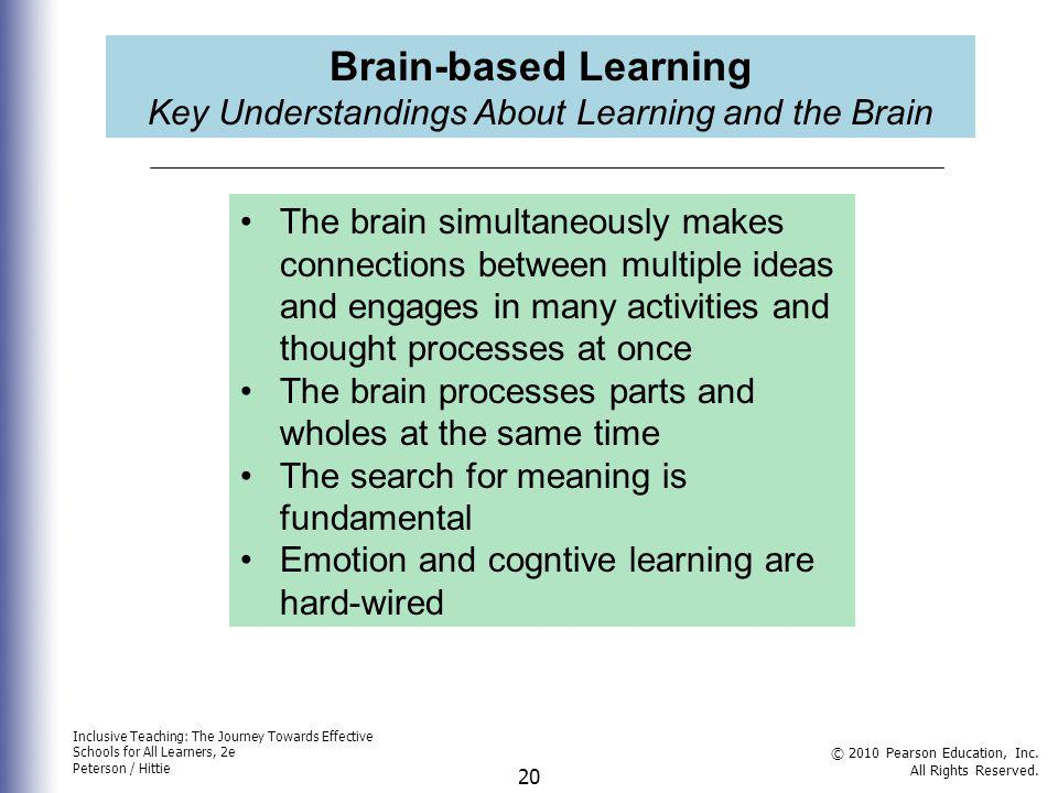 Key Understandings About Learning and the Brain