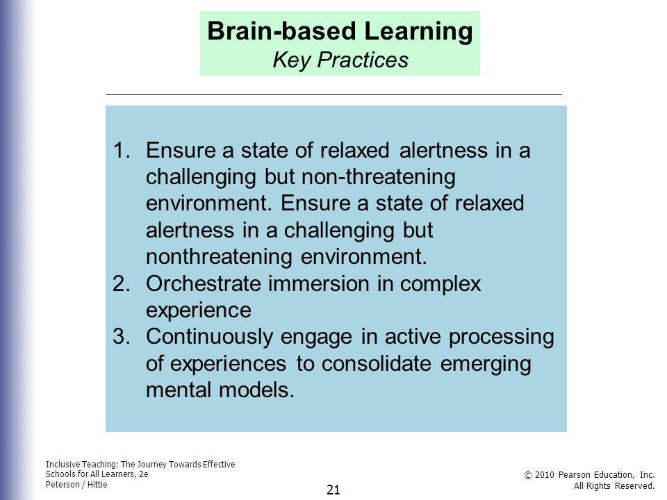 Brain-based Learning Key Practices