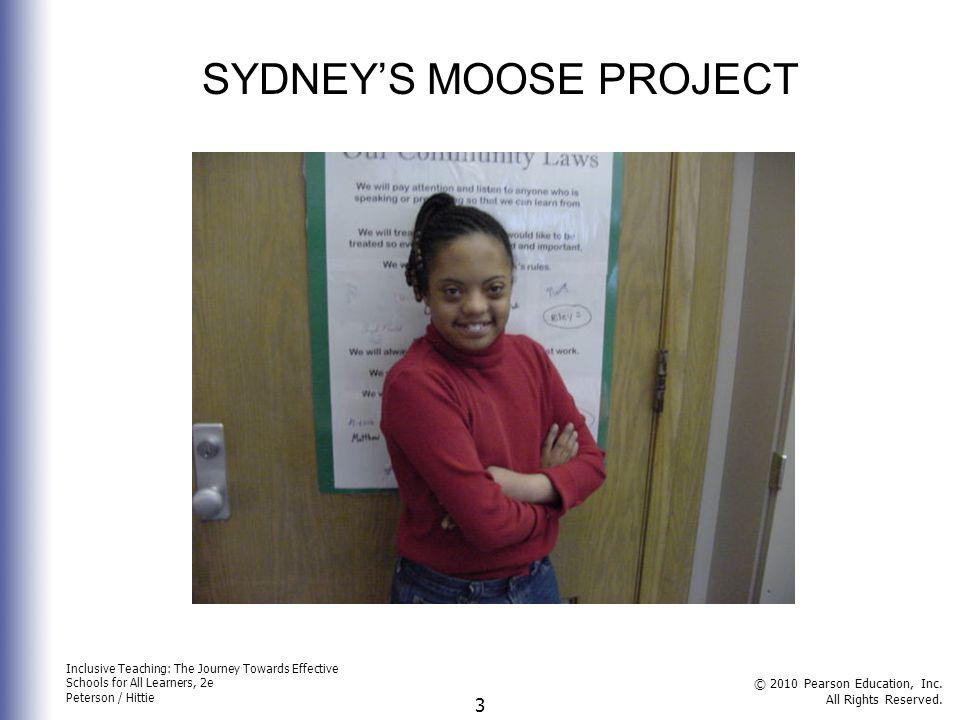 SYDNEY'S MOOSE PROJECT