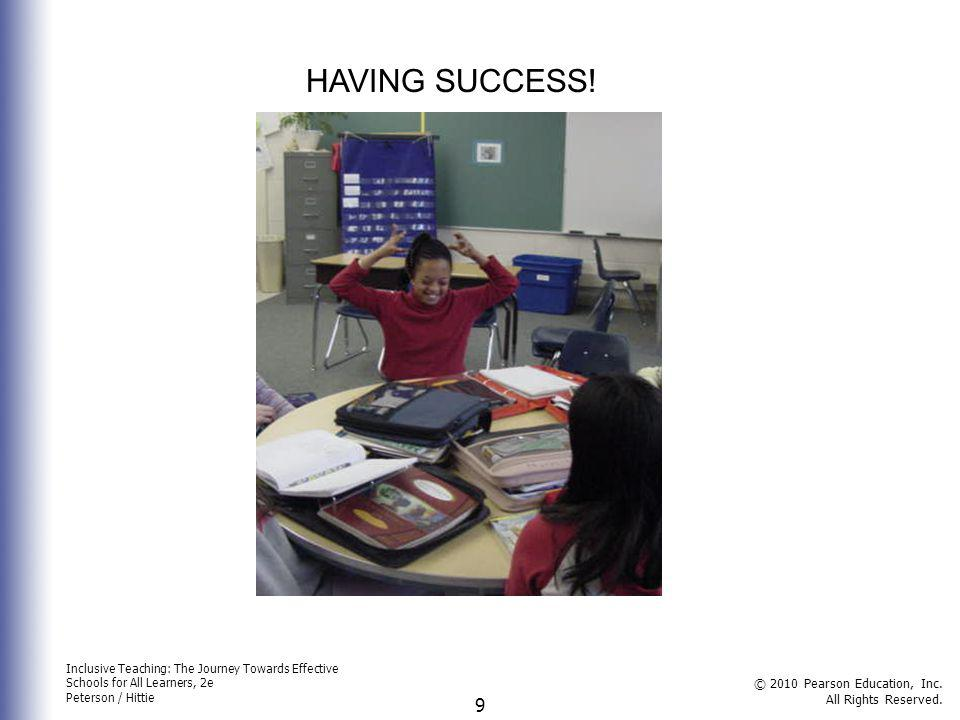 HAVING SUCCESS!