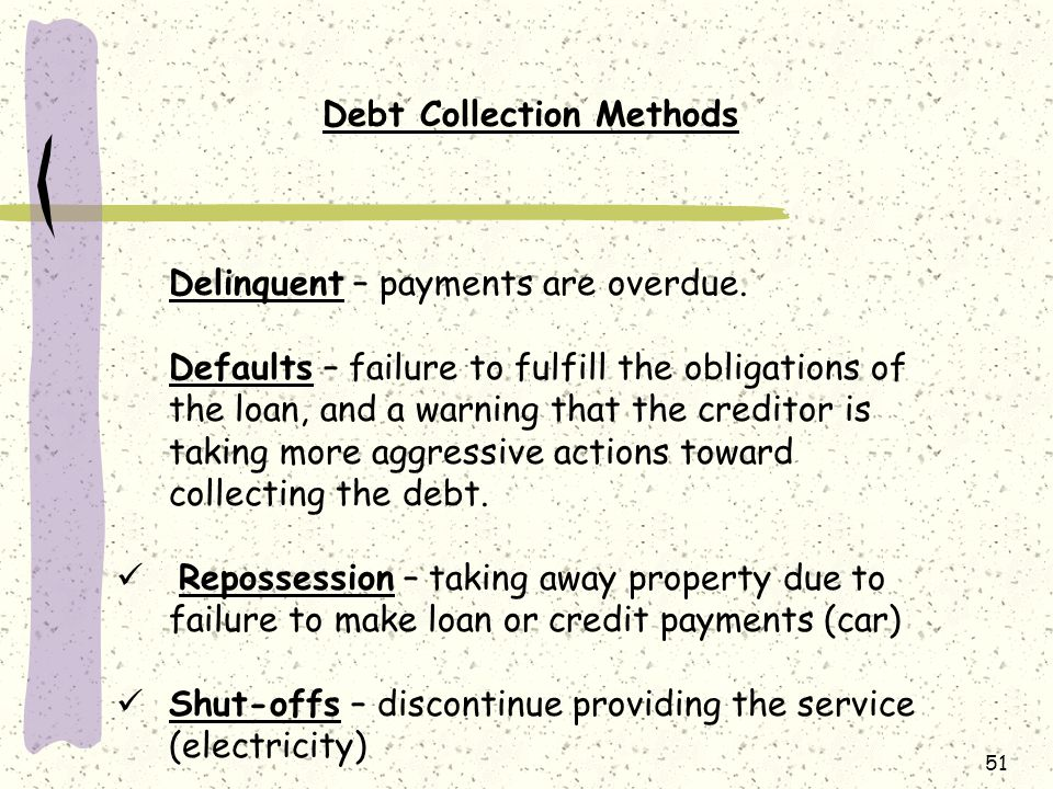 Debt Collection Methods