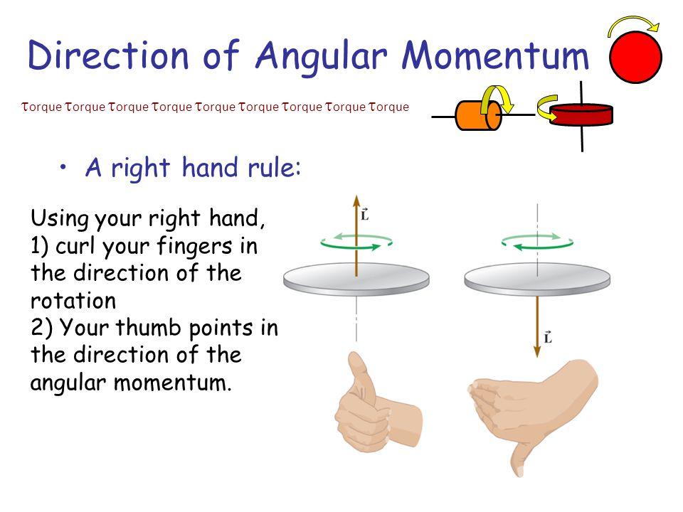 Direction of Angular Momentum