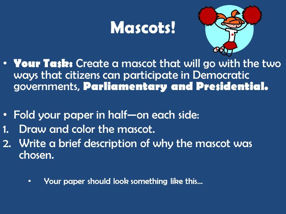 Mascots!