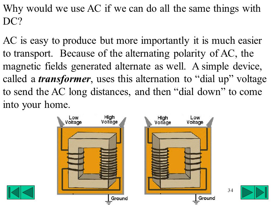 Why would we use AC if we can do all the same things with DC