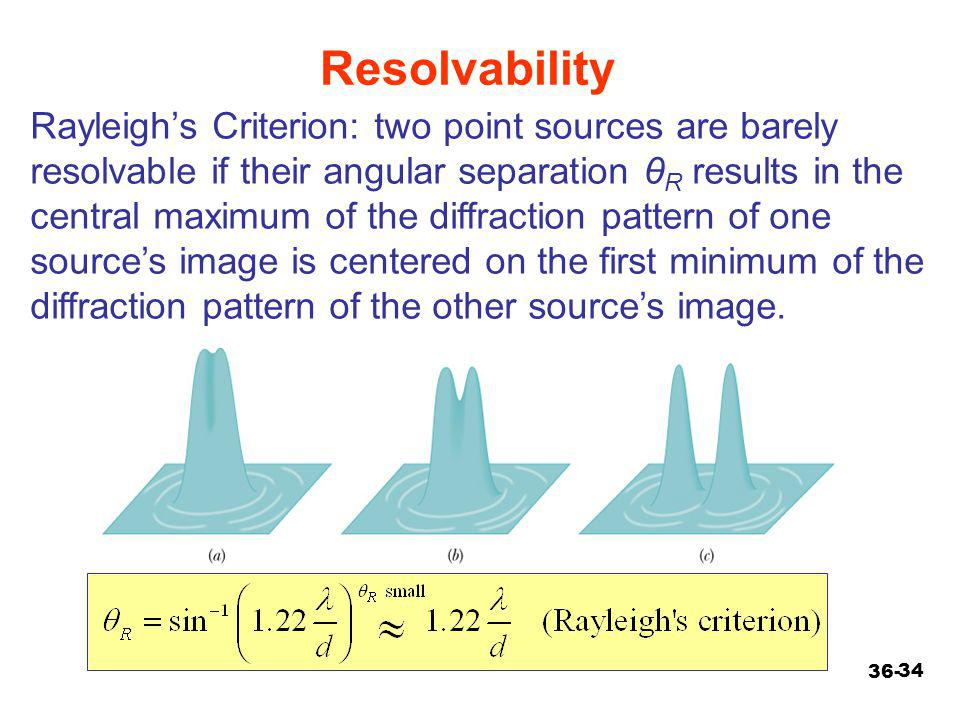 Resolvability