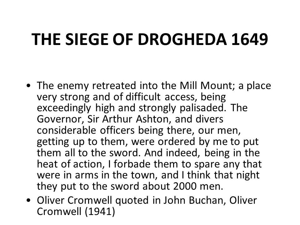 THE SIEGE OF DROGHEDA 1649