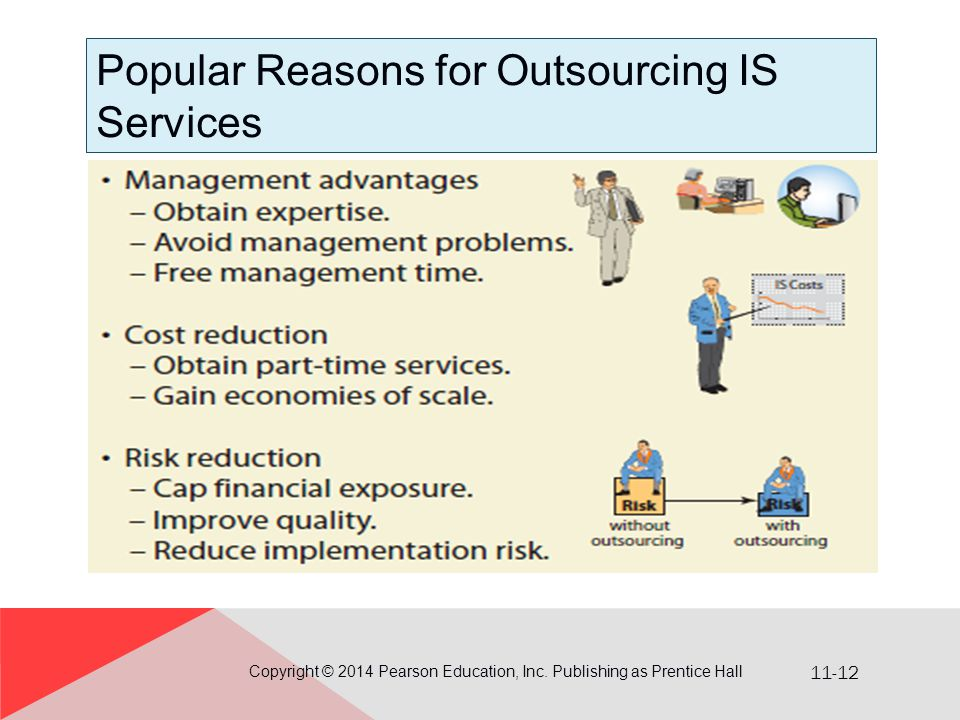 Popular Reasons for Outsourcing IS Services