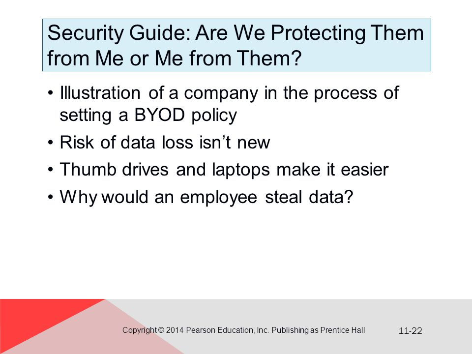 Security Guide: Are We Protecting Them from Me or Me from Them