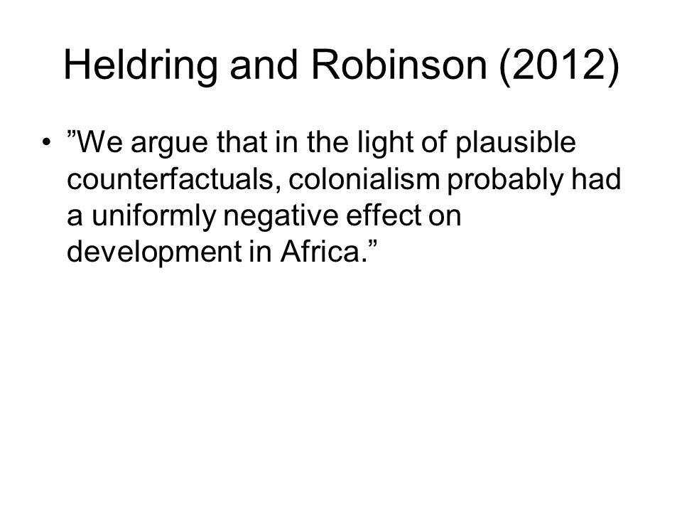 Heldring and Robinson (2012)