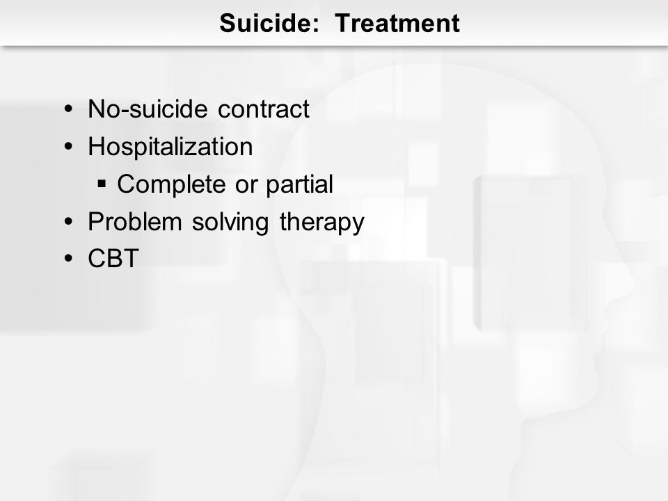 Problem solving therapy CBT