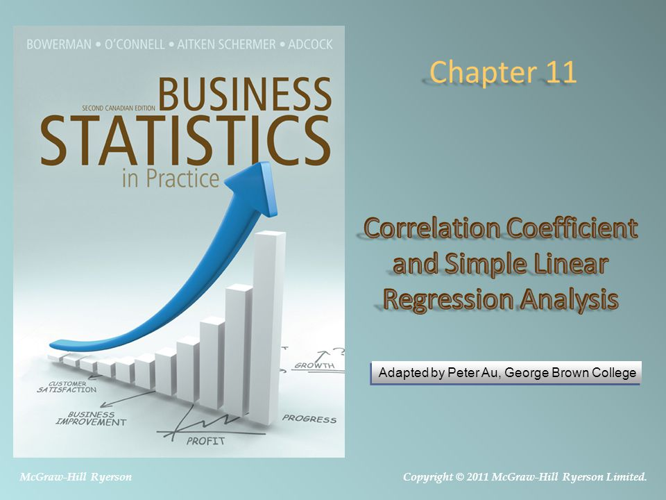 Correlation Coefficient and Simple Linear Regression Analysis