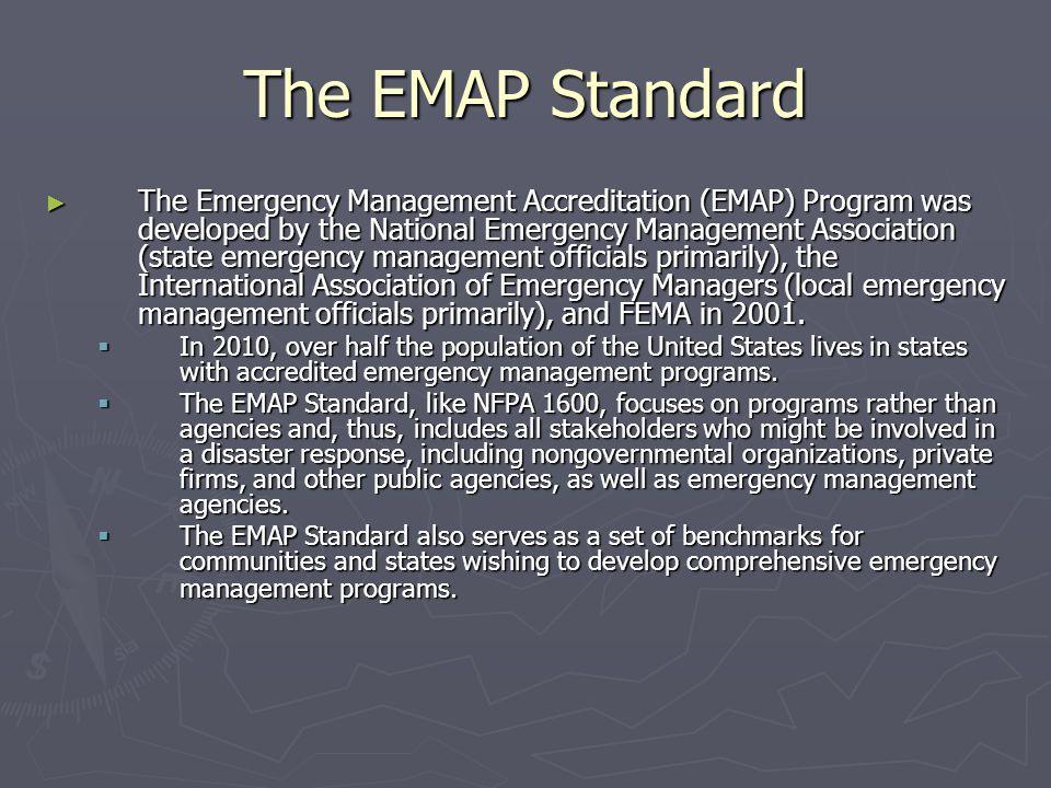The EMAP Standard