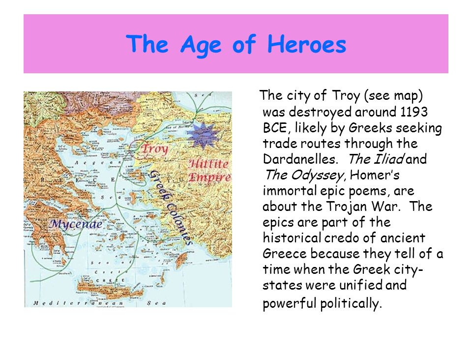 The Age of Heroes