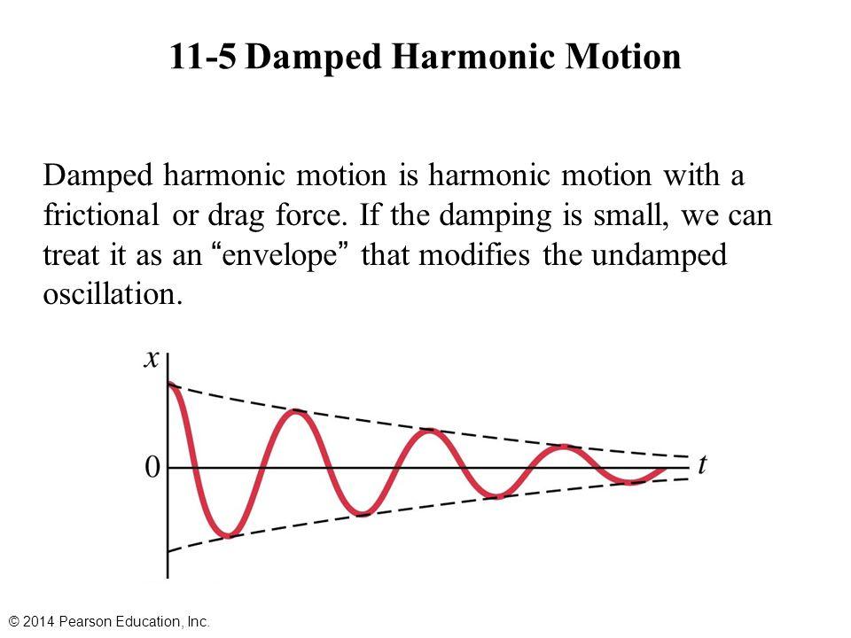 11-5 Damped Harmonic Motion