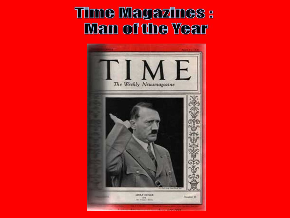 Time Magazines : Man of the Year