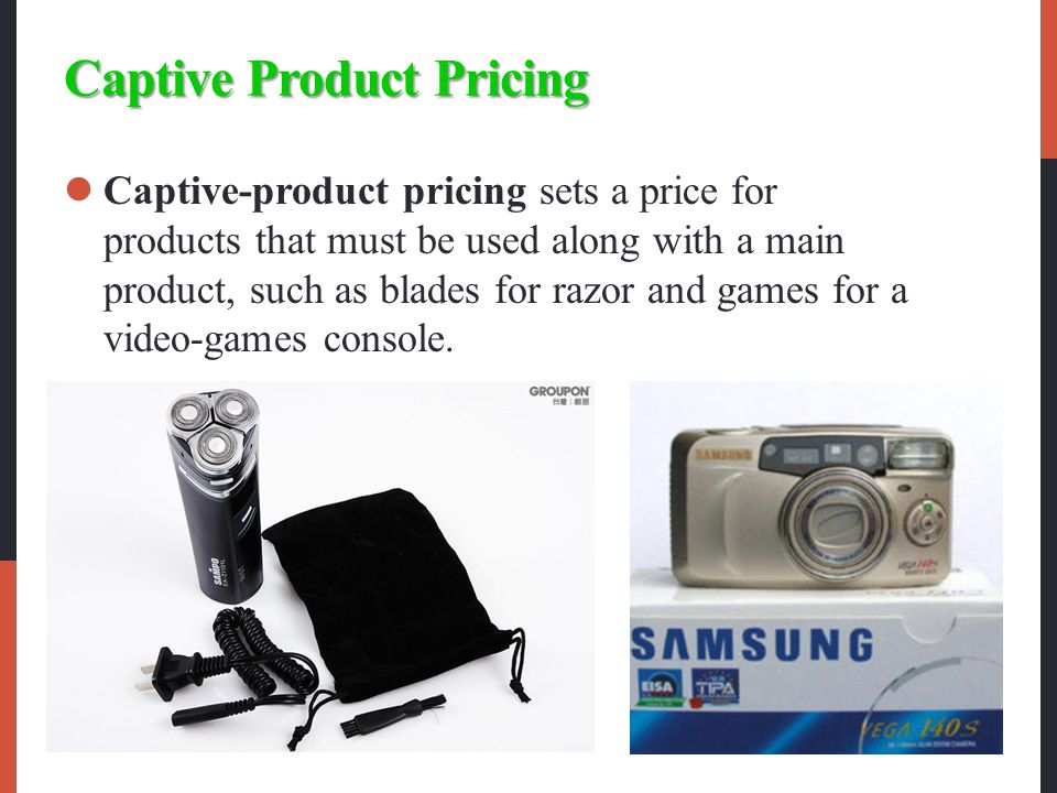 Captive Product Pricing
