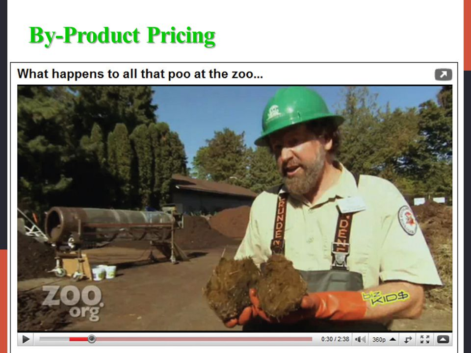 By-Product Pricing
