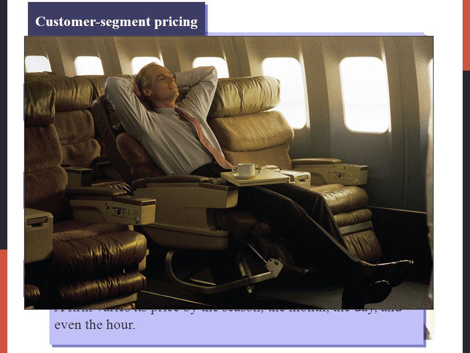 Customer-segment pricing