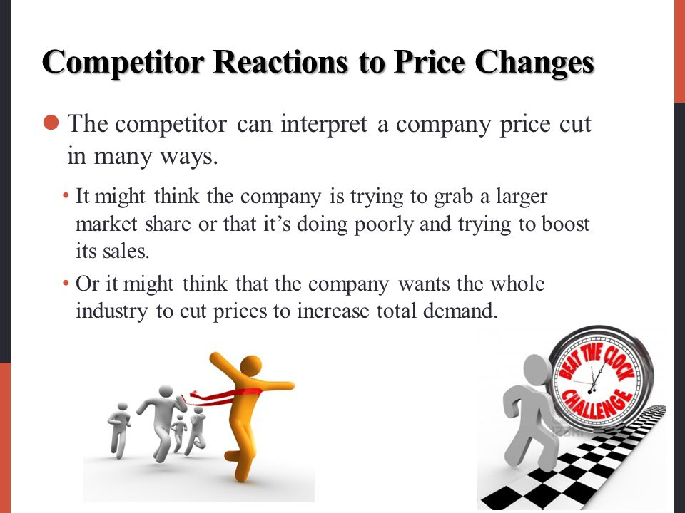 Competitor Reactions to Price Changes