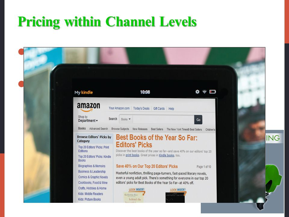 Pricing within Channel Levels