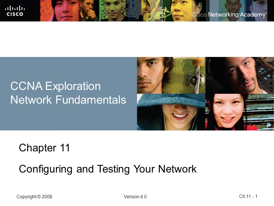 CCNA Exploration Network Fundamentals Chapter 11