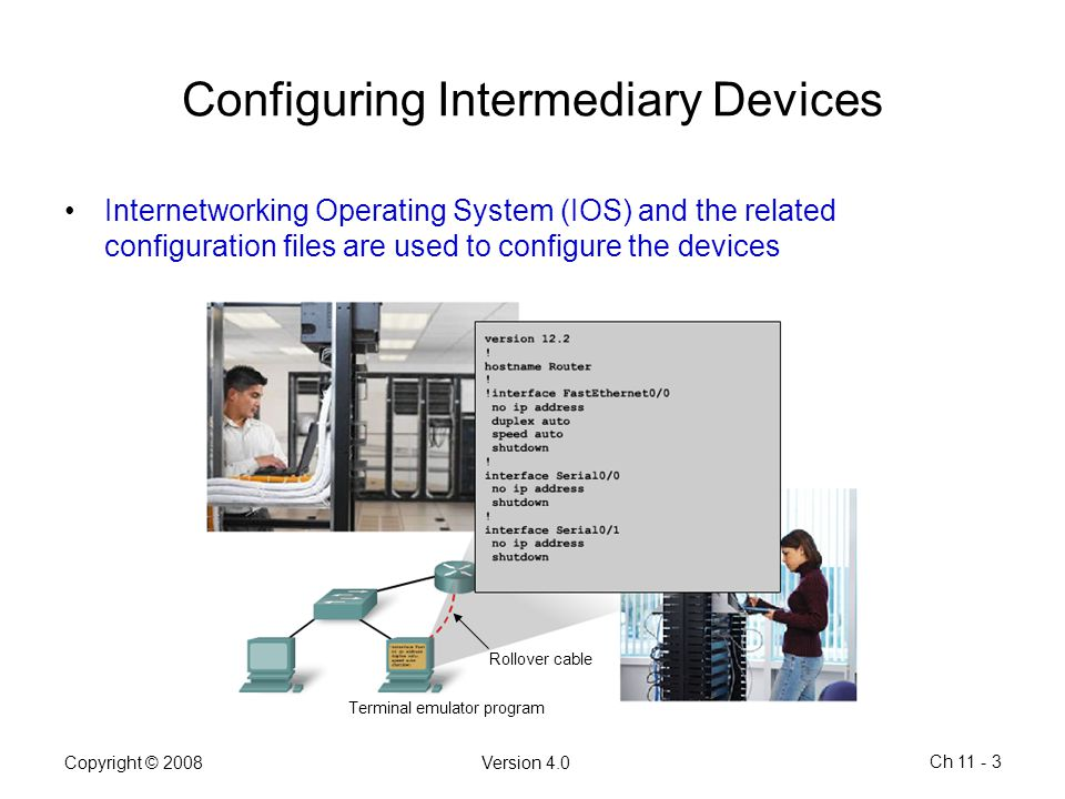 Configuring Intermediary Devices
