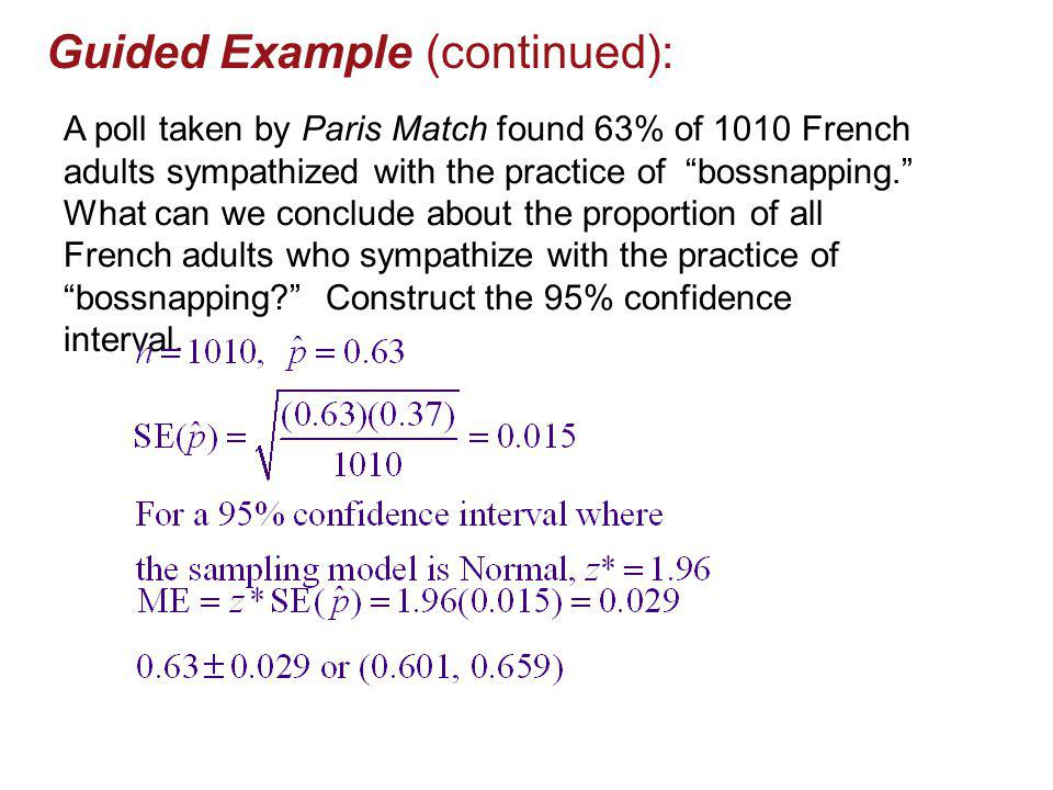 Guided Example (continued):